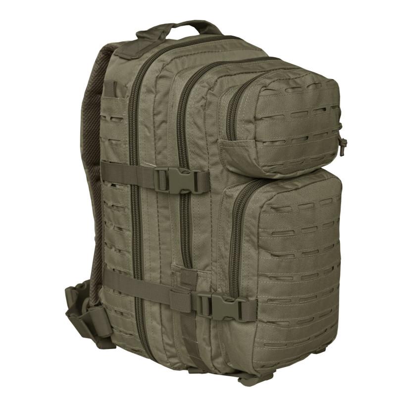 Mil-tec US Assault SM Laser Cut ruksak | zeleni | 20l