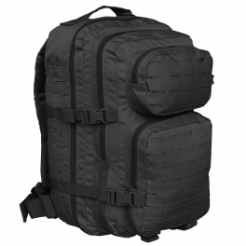 Mil-tec US Assault LG Laser Cut ruksak | crni | 36l