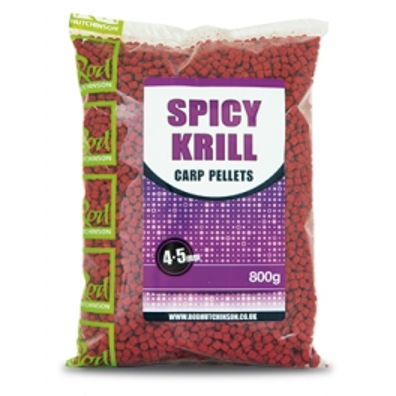 Rod Hutchinson Spicy Krill Carp pelete | 800g
