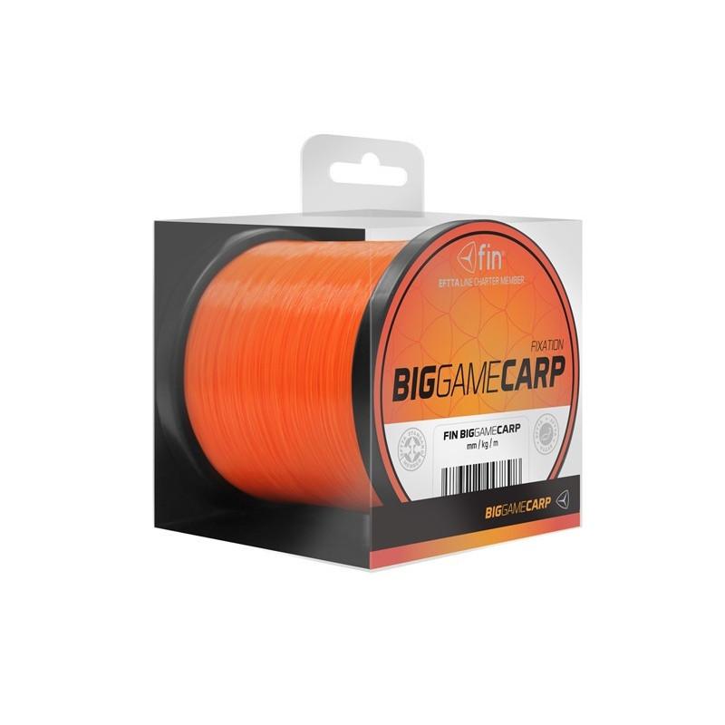 FIN Big game CARP / fluo orange najlon | 600m
