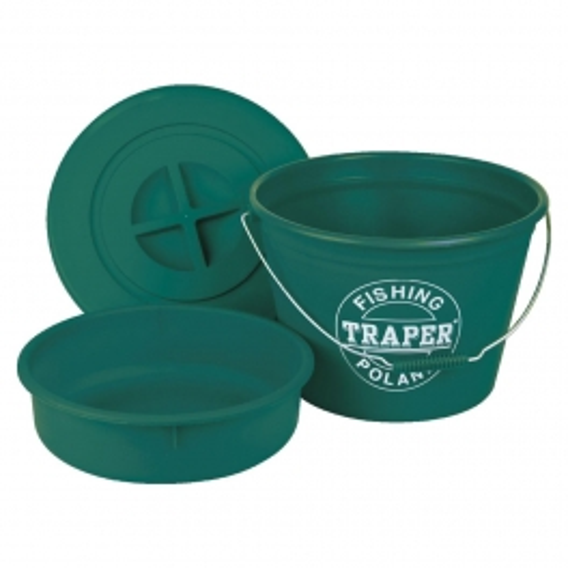 Traper set kanta s posudom i poklopcem | 25l