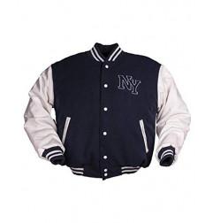 Mil-tec NY Baseball jakna | plavo/bijela